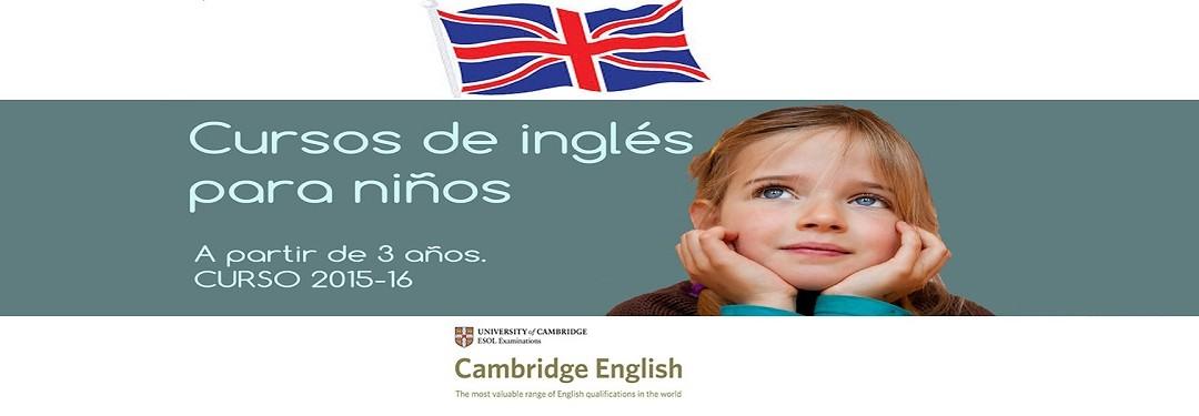 Cursos de inglés para niños 2015-16
