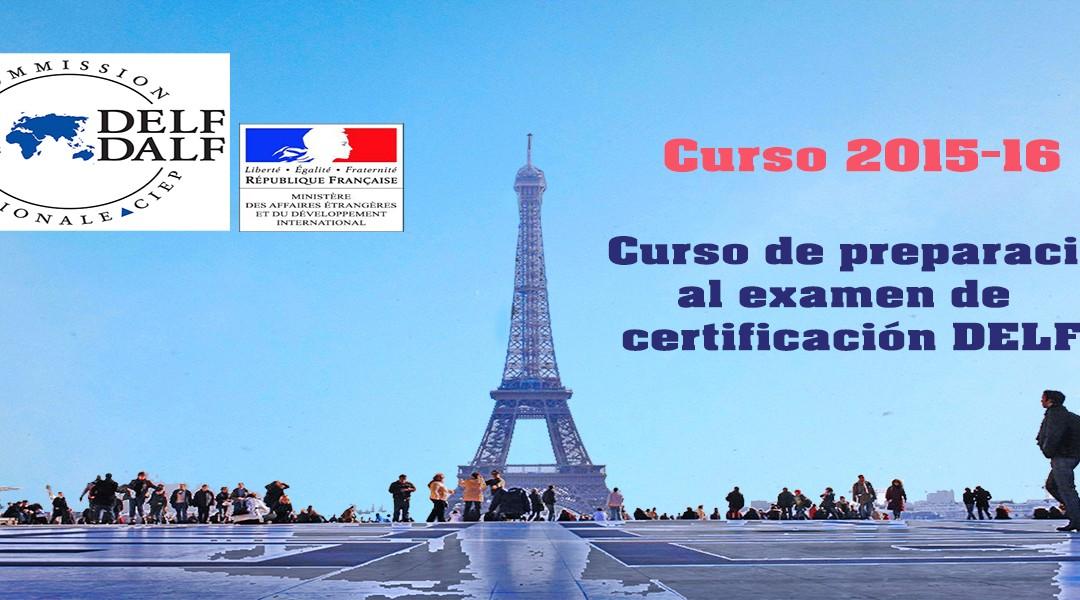 Curso de francés para preparación de la certificación DELF