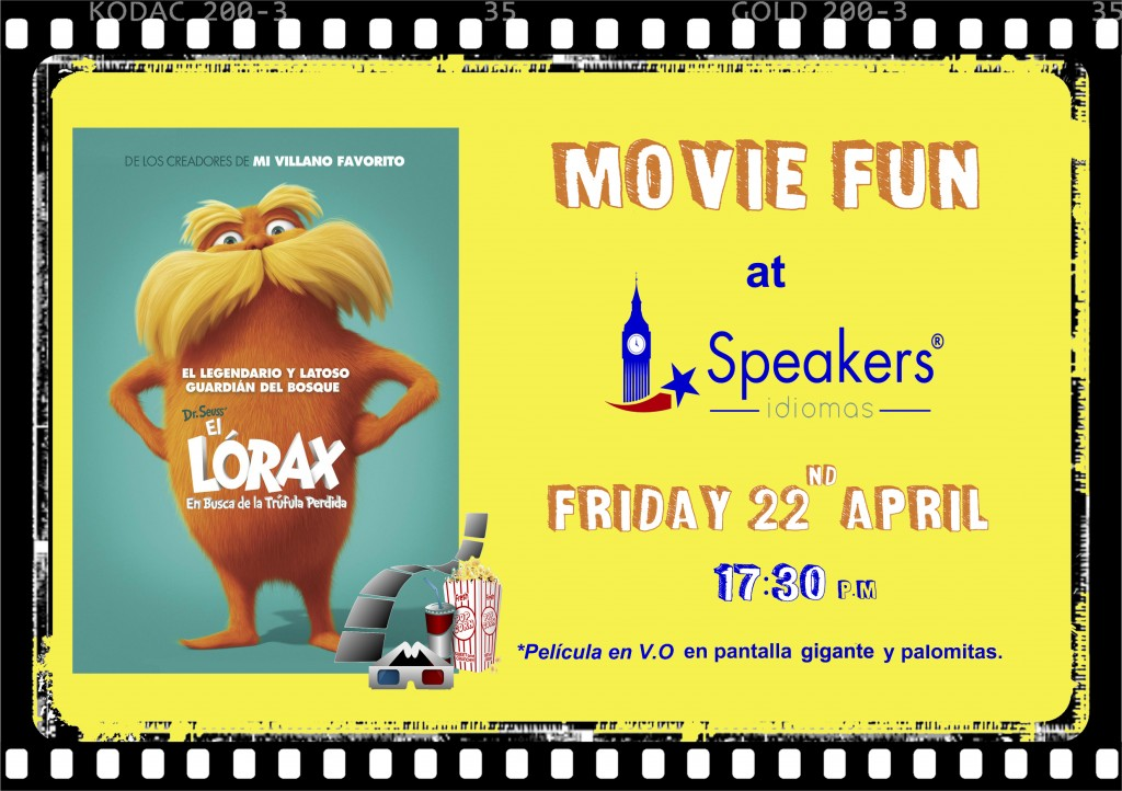 Movie Fun en Speakers Idiomas. Academia de Inglés en Gijón.