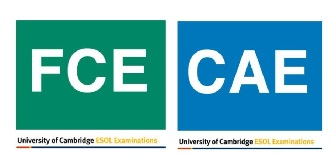 Preparation classes for FCE and CAE