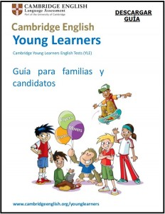 CAMBRIDGE YOUNG LEARNERS YLE SPEAKERS IDIOMAS