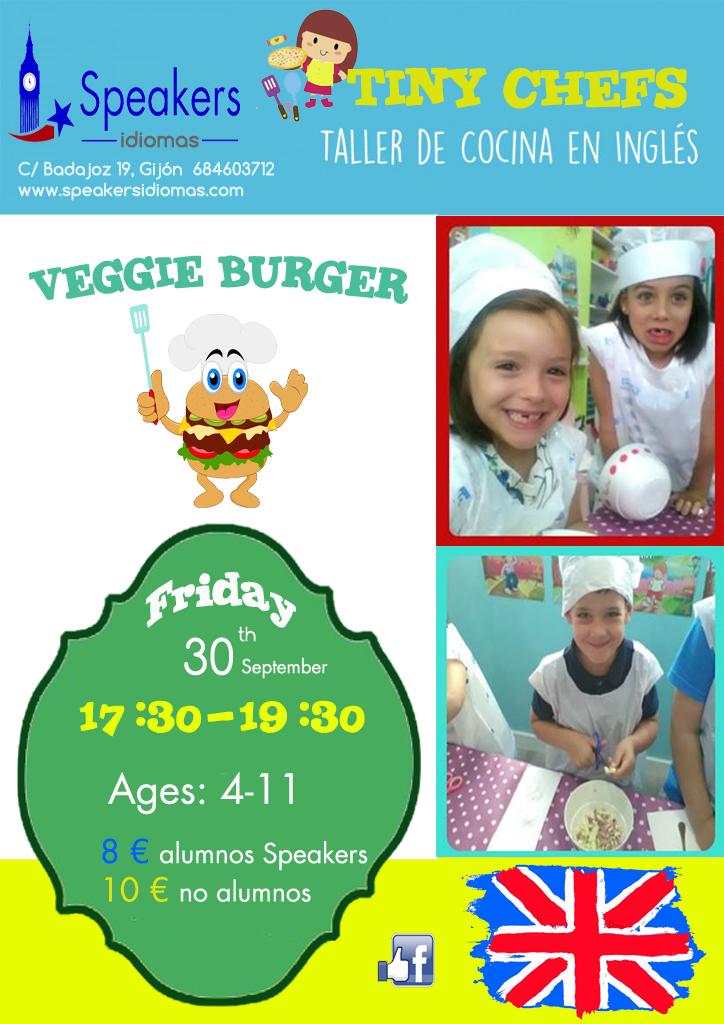 taller cocina inglés en gijón para niños