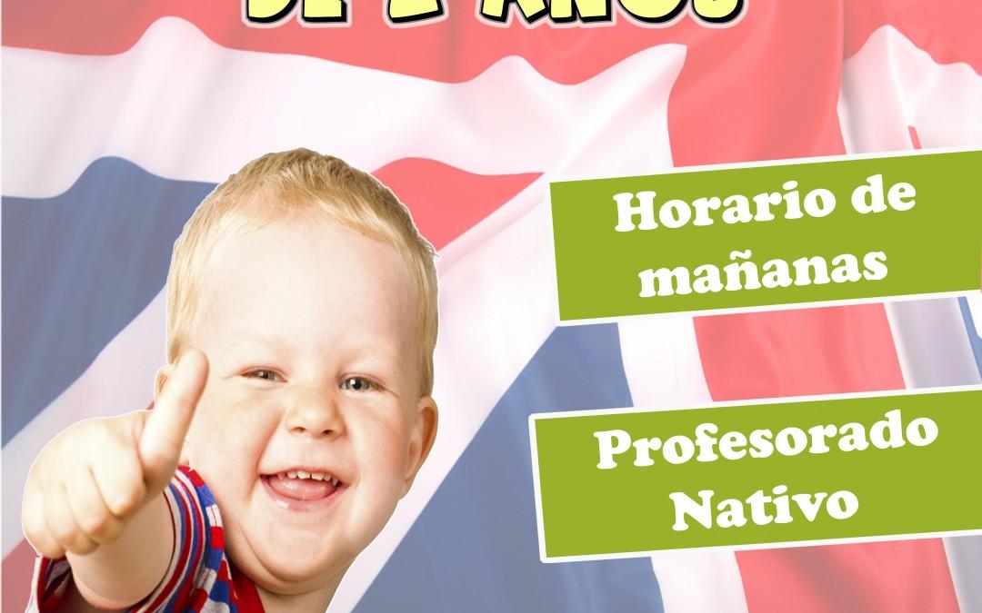 BABY STEPS: Inglés para niños de 2 años