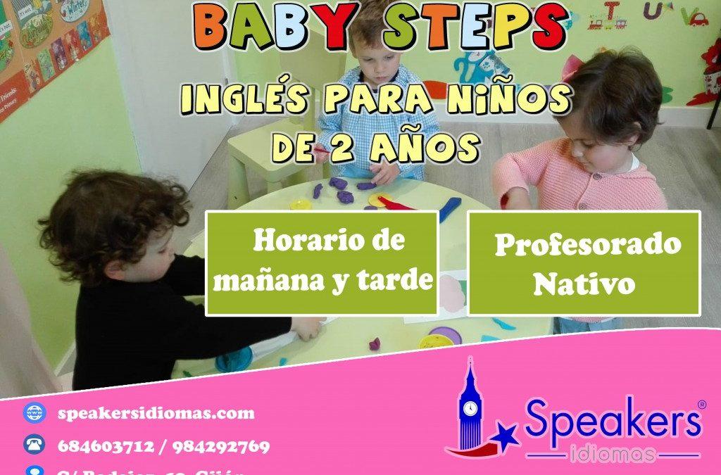 ABIERTO PLAZO DE MATRÍCULA DE BABY STEPS