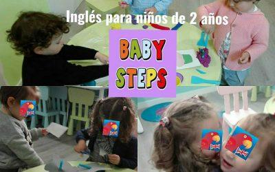 COMIENZO CLASES BABY STEPS GIJÓN | Inglés para niños 2-3 años