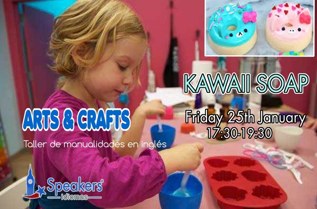 "ARTS & CRAFTS ""KAWAII SOAP"""