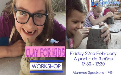 CLAY FOR KIDS WORKSHOP