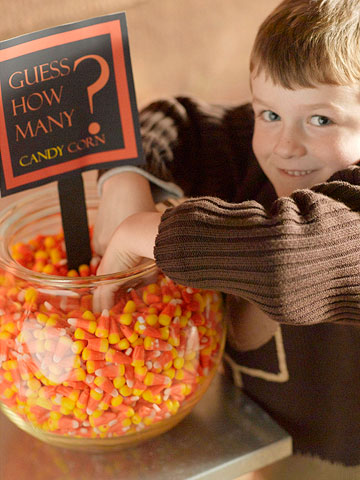 "TINY CHEFS ""CANDY CORN"""