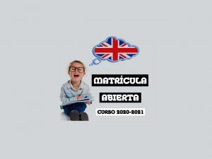 MATRÍCULA ABIERTA 2020-21