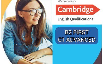 B2 FIRST Y C1 ADVANCED